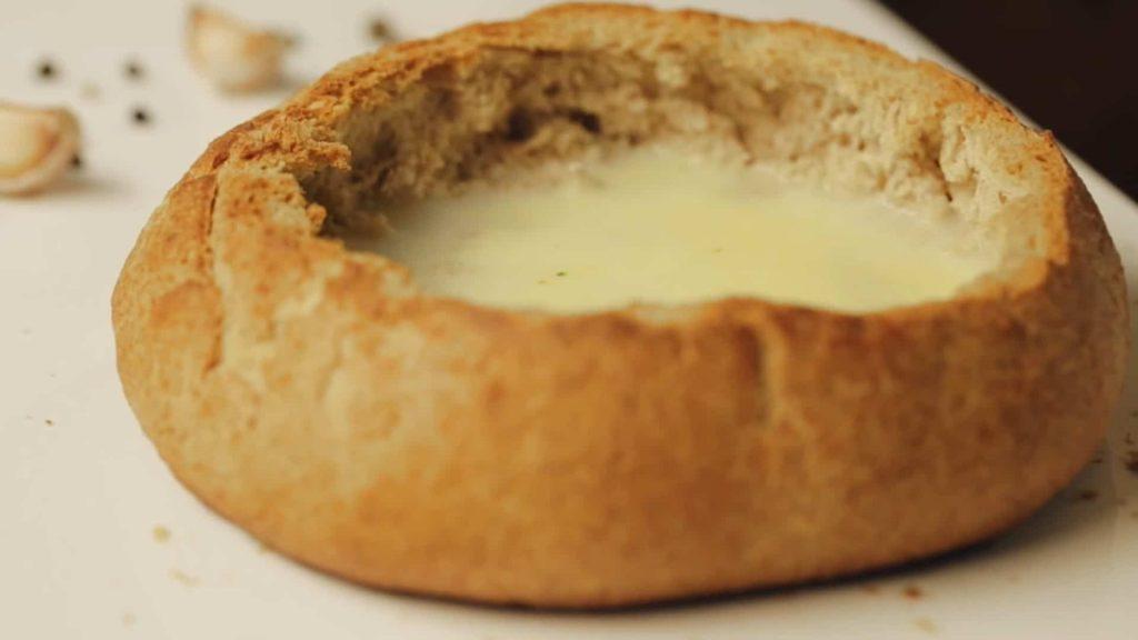 Чешский чесночный суп — пошаговый рецепт, шаг 6