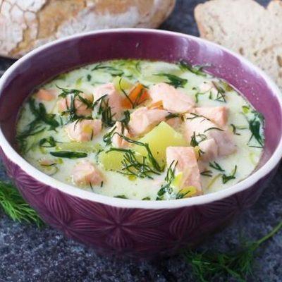 Финский рыбный суп - пошаговый рецепт, основное фото