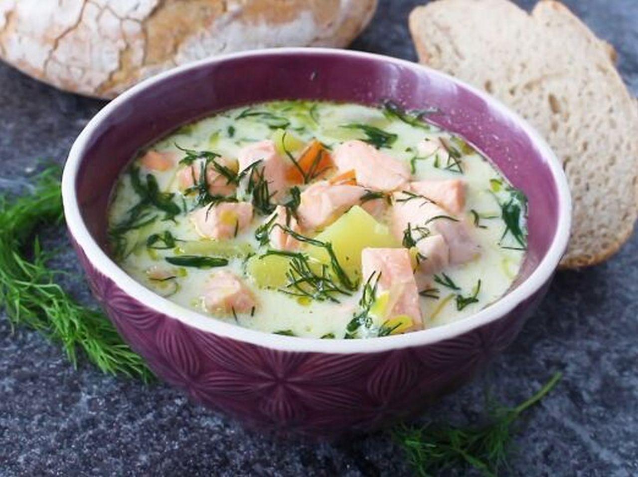 Финский рыбный суп — пошаговый рецепт, основное фото