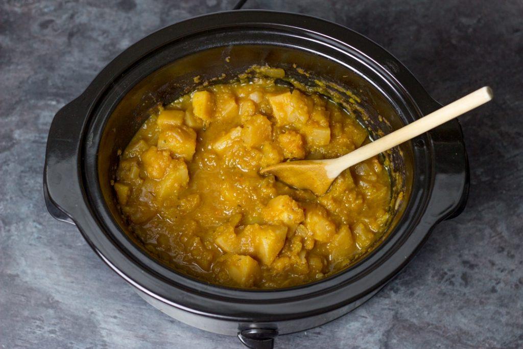 Тыквенный суп в мультиварке — пошаговый рецепт, шаг 3