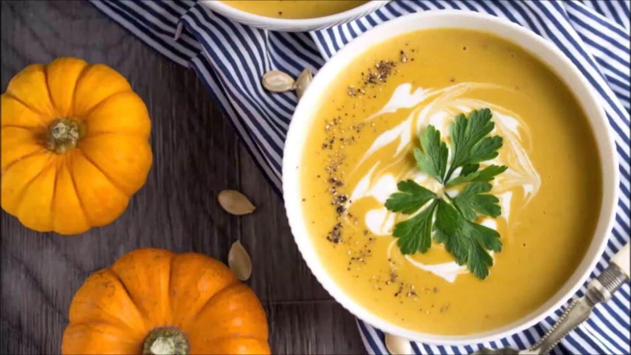 Тыквенный суп в мультиварке — пошаговый рецепт, основное фото