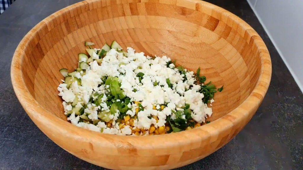 Салат из красной фасоли — пошаговый рецепт, шаг 4