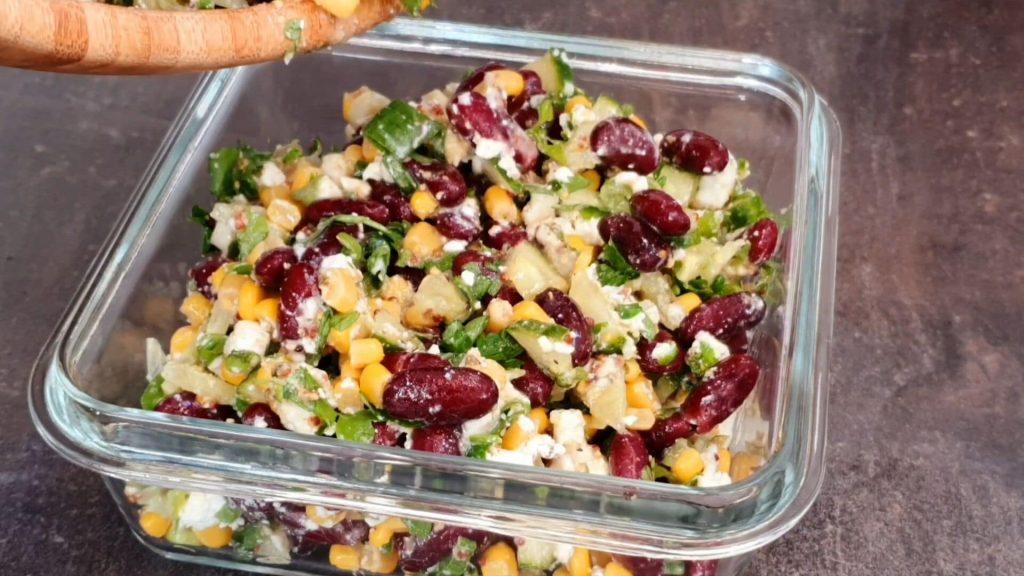 Салат из красной фасоли — пошаговый рецепт, шаг 6