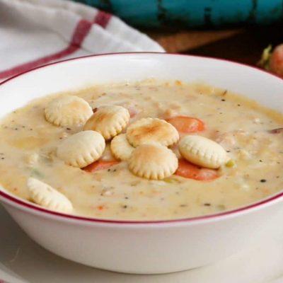 Сырный суп с морепродуктами - пошаговый рецепт, основное фото
