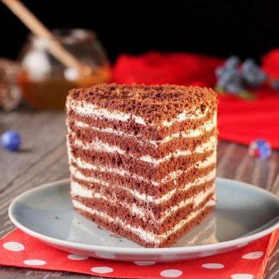 Торт Спартак - пошаговый рецепт, основное фото
