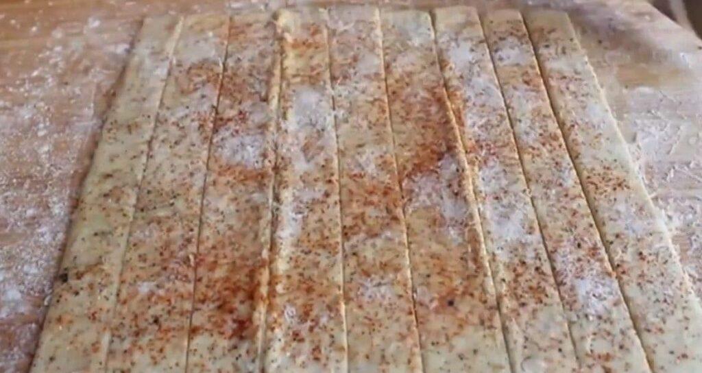 Сырные палочки — пошаговый рецепт, шаг 5