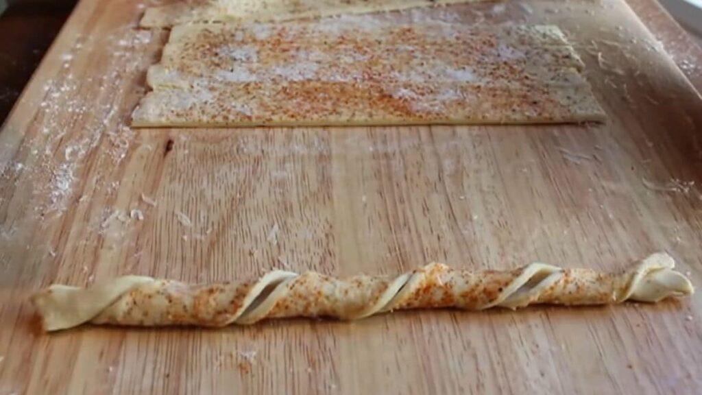Сырные палочки — пошаговый рецепт, шаг 6
