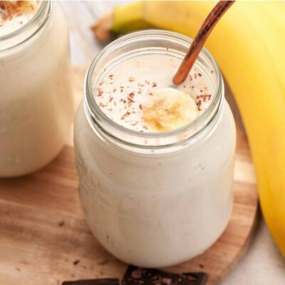 Банановый смузи с овсянкой - пошаговый рецепт с фото