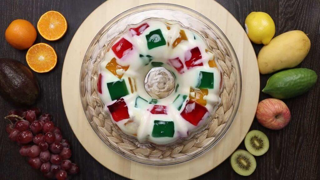 Желейный торт битое стекло — пошаговый рецепт, шаг 5