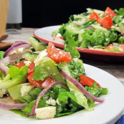 Греческий салат без маслин - основное фото