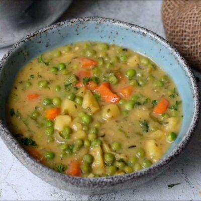 Вегетарианский гороховый суп - основное фото