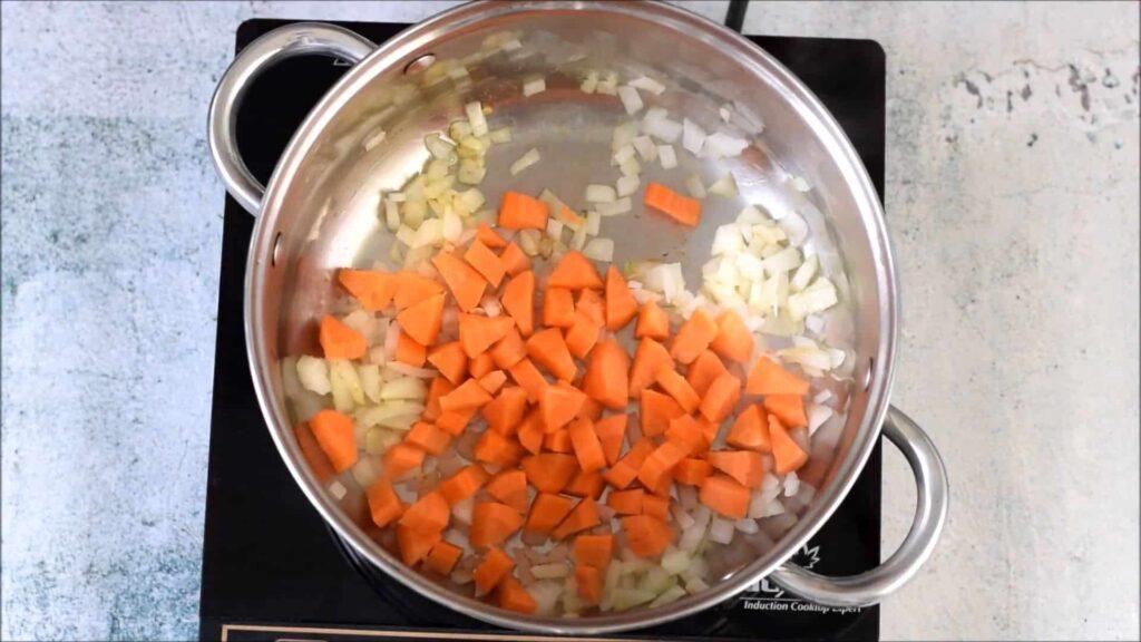 Вегетарианский гороховый суп — пошаговый рецепт, шаг 1