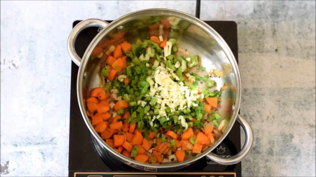 Вегетарианский гороховый суп — пошаговый рецепт, шаг 2