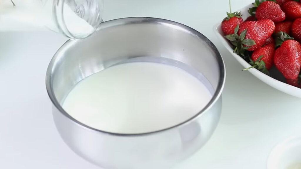 Панна-котта — пошаговый рецепт, шаг 2