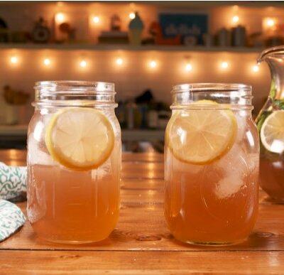 Лимонный пунш - пошаговый рецепт, основное фото