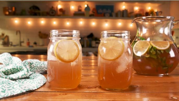 Лимонный пунш — пошаговый рецепт, основное фото