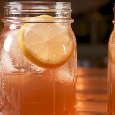 Лимонный пунш — пошаговый рецепт, шаг 4