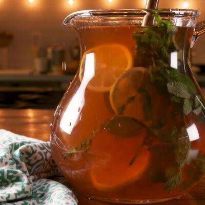 Лимонный пунш — пошаговый рецепт, шаг 3